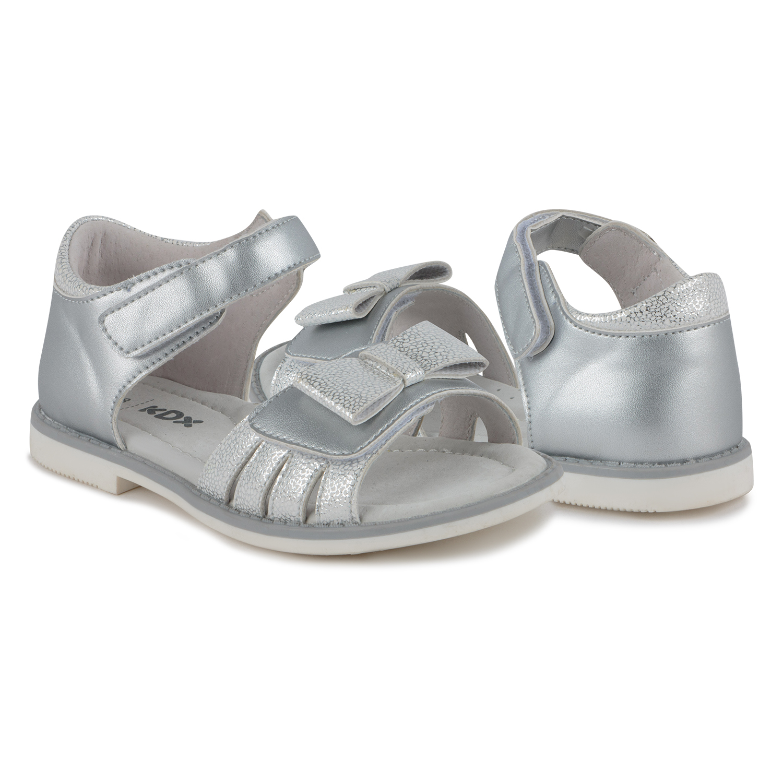 Купить Сандалии для детей Kidix JLS21-28 silver серебряный 31,