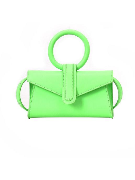 Клатч женский Color town Ct-green зеленый