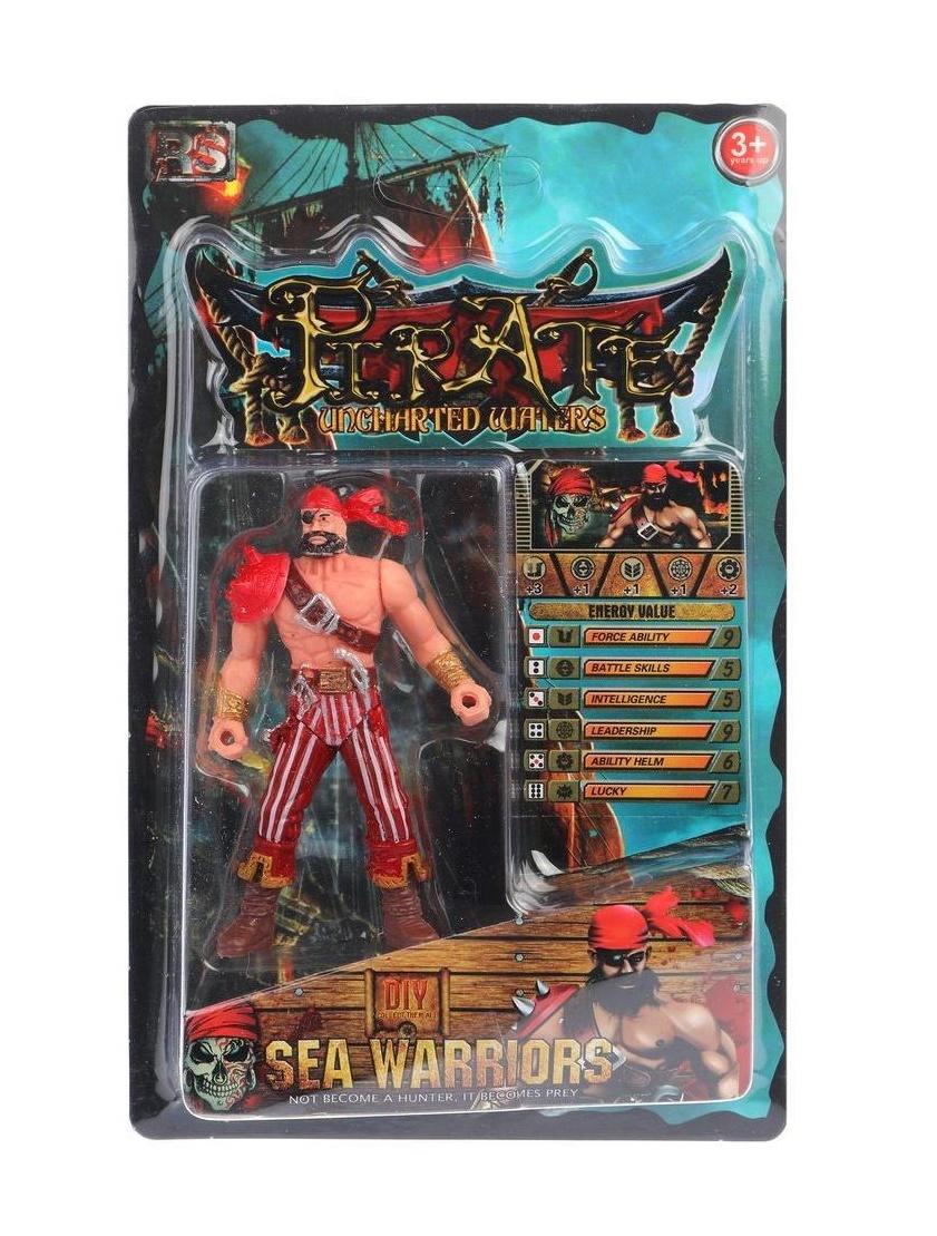 Купить Фигурка Пират с оружием, в ассортименте, блистер Shantou 8910-80, Shantou Gepai,