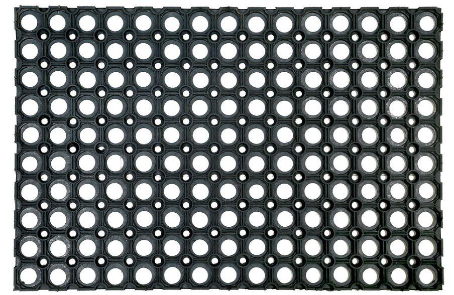 Коврик придверный ячеистый резиновый Shahintex, 50х80 см