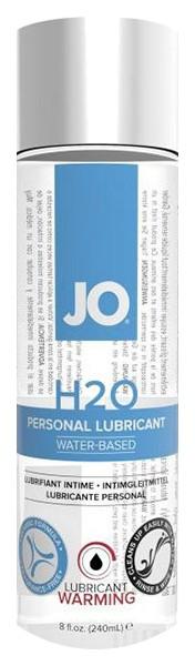 Купить Разогревающий лубрикант на водной основе JO Personal Lubricant H2O Warming 240 мл., System JO