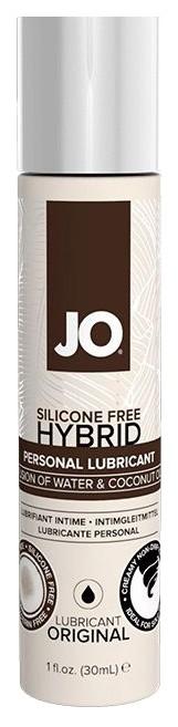 Купить Silicon Free Hybrid Original, Водно-масляный лубрикант JO Silicon free Hybrid Lubricant ORIGINAL- 30 мл., System JO