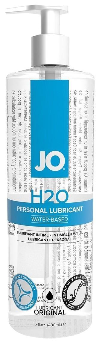 Купить Лубрикант на водной основе JO Personal Lubricant H2O с дозатором 480 мл., System JO