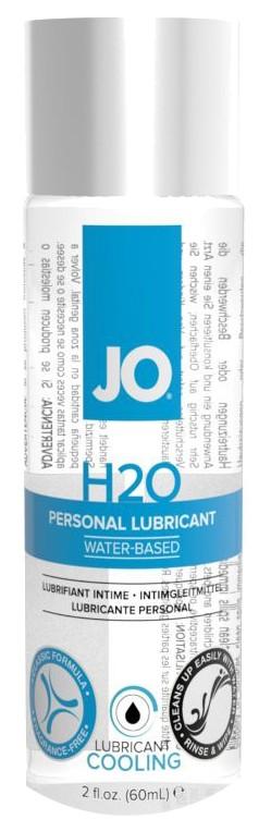 Купить Personal H2O Cooling, Охлаждающий лубрикант на водной основе JO Personal Lubricant H2O COOLING 60 мл., System JO