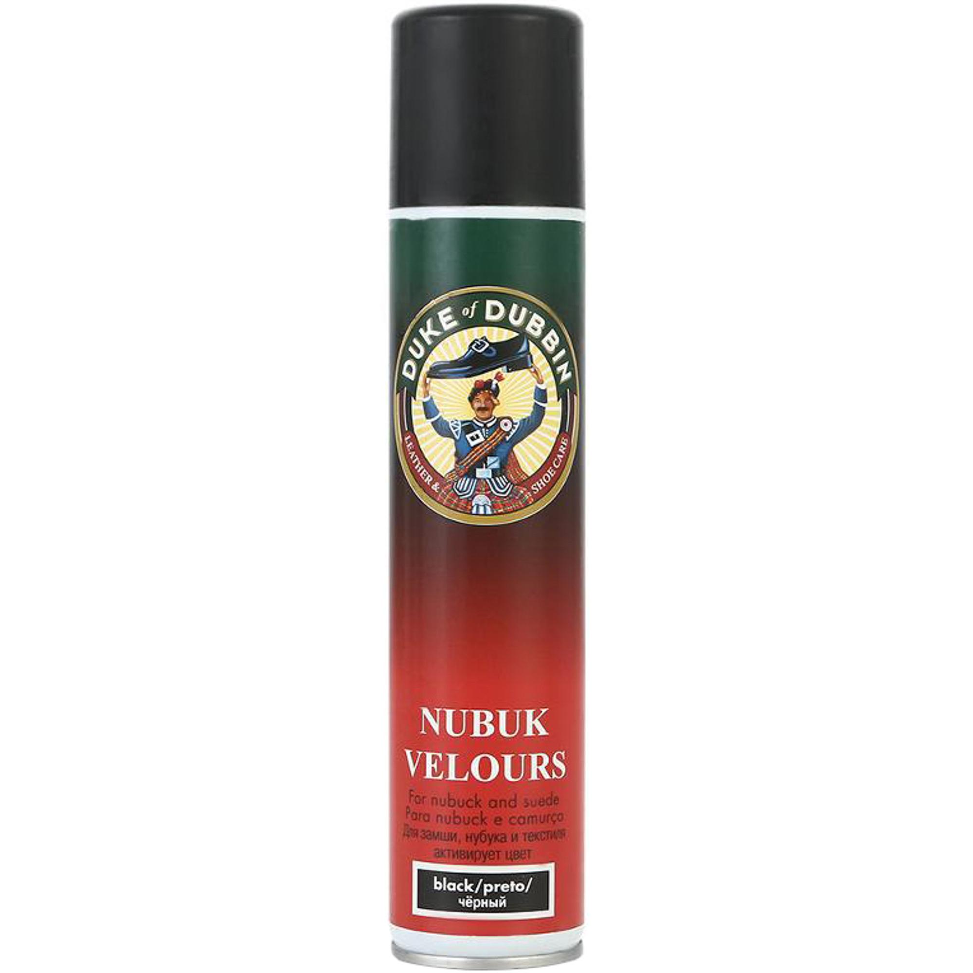 Универсальный защитный спрей для ворсовых видов кожи Duke Nubuk Velours Spray