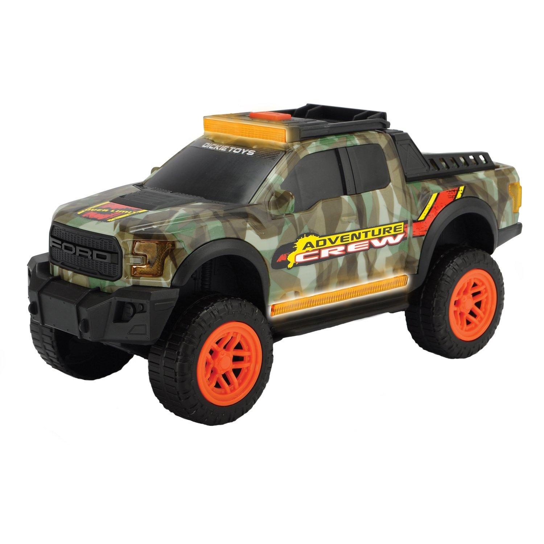 Купить Машинка Dickie Ford F150 Raptor Adventure со световыми и звуковыми эффектми, 33 см, Dickie Toys,