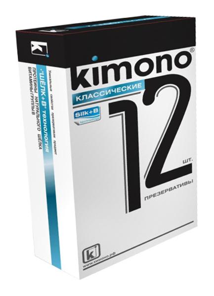 Купить Классические, Классические презервативы KIMONO 12 шт.