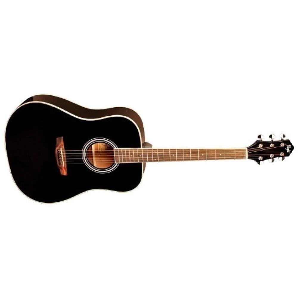 Акустическая гитара FLIGHT AD-200 BK фото