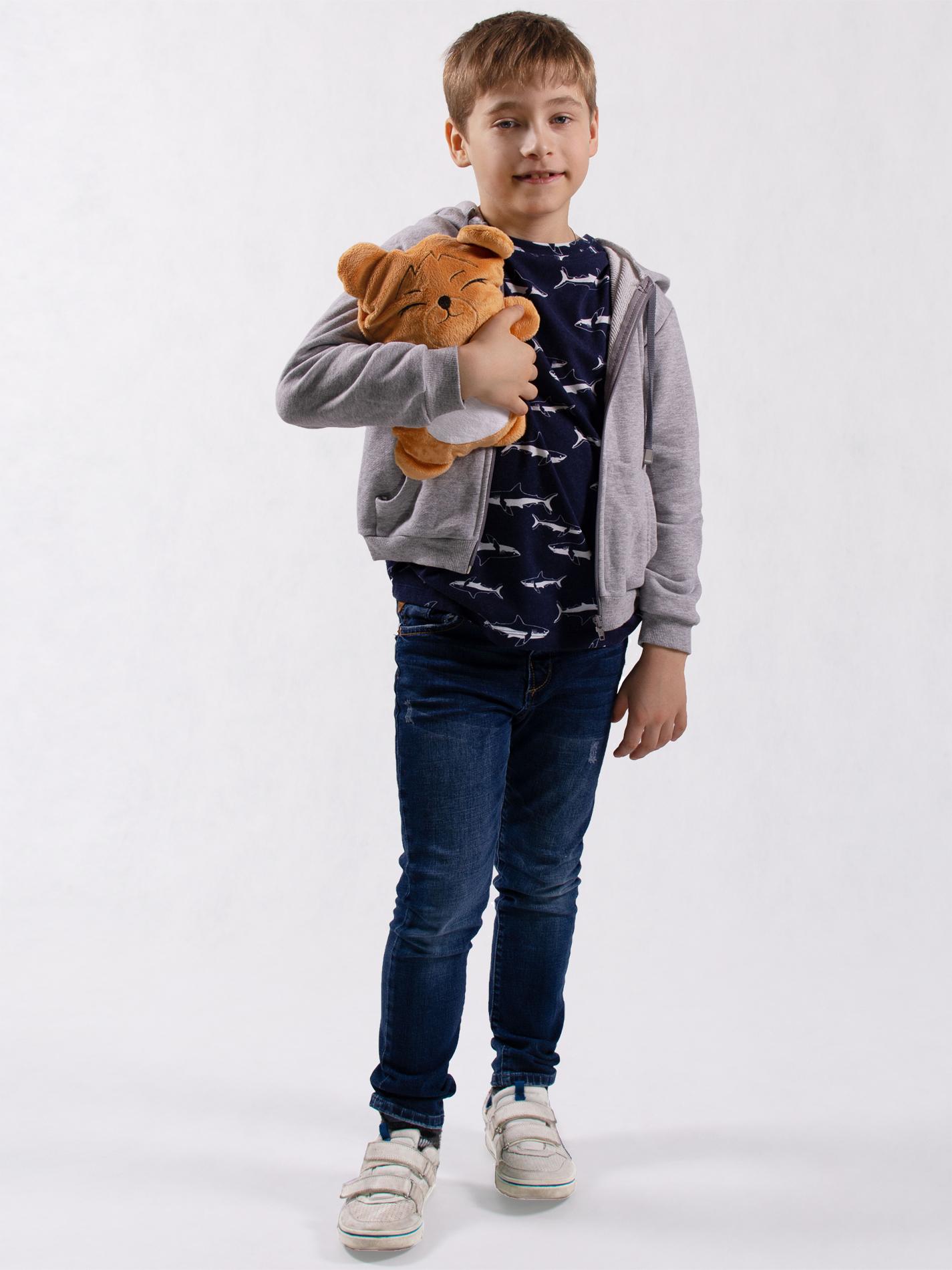 Худи детский с капюшоном и игрушка Мишка