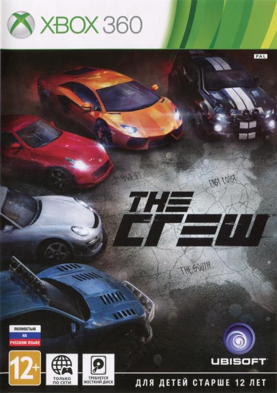 Игра The Crew для Xbox 360
