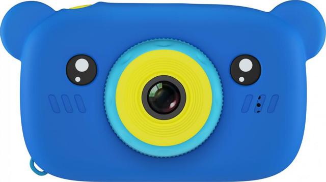 Купить Fun Camera Rabbit, Фотоаппарат цифровой компактный GSMIN Fun Camera Bear Blue,