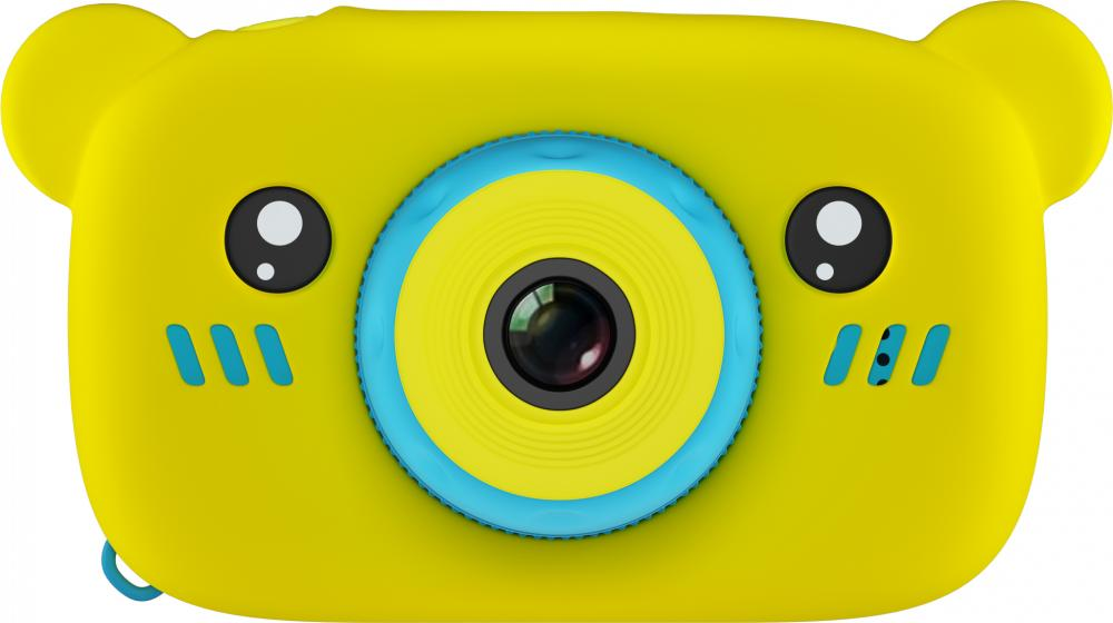 Купить Fun Camera Rabbit, Фотоаппарат цифровой компактный GSMIN Fun Camera Bear Yellow/Blue,
