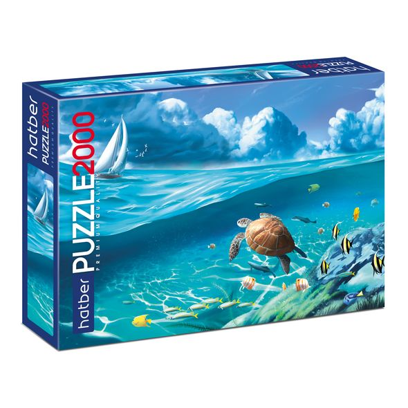 Купить Пазл Premium. Море волнуется раз..., 2000 элементов, Hatber,