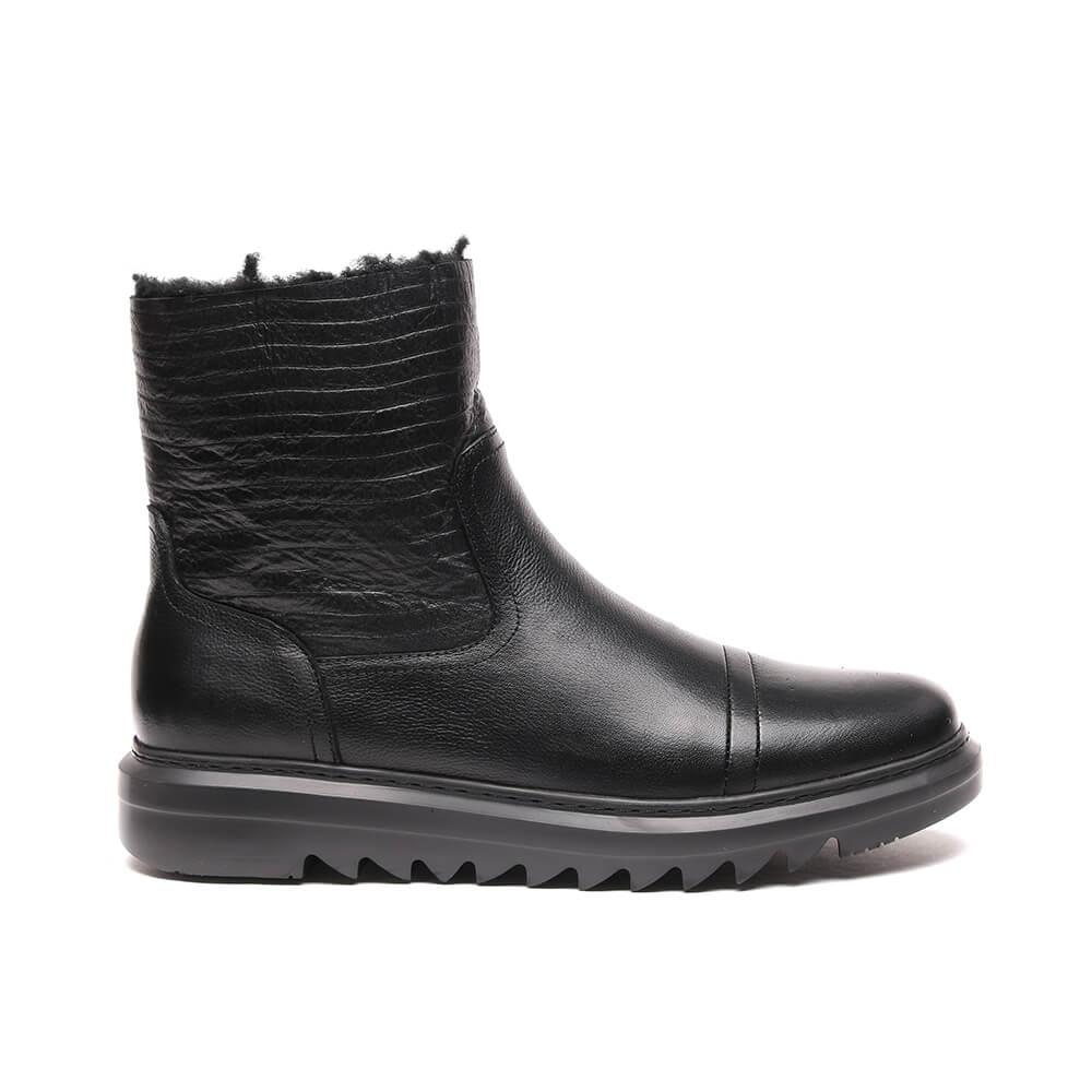 Полусапоги мужские Basconi 140107BC черные 44 RU