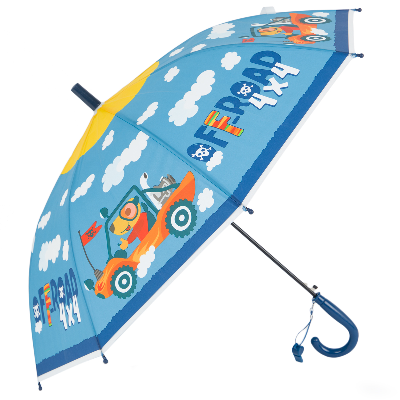 Зонт для детей Kidix FNGS21-14 blue голубой one size