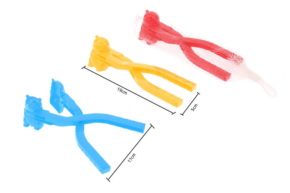 Формочка для лепки снежков Мишка , 19х5 см, арт. Т16415 1toy