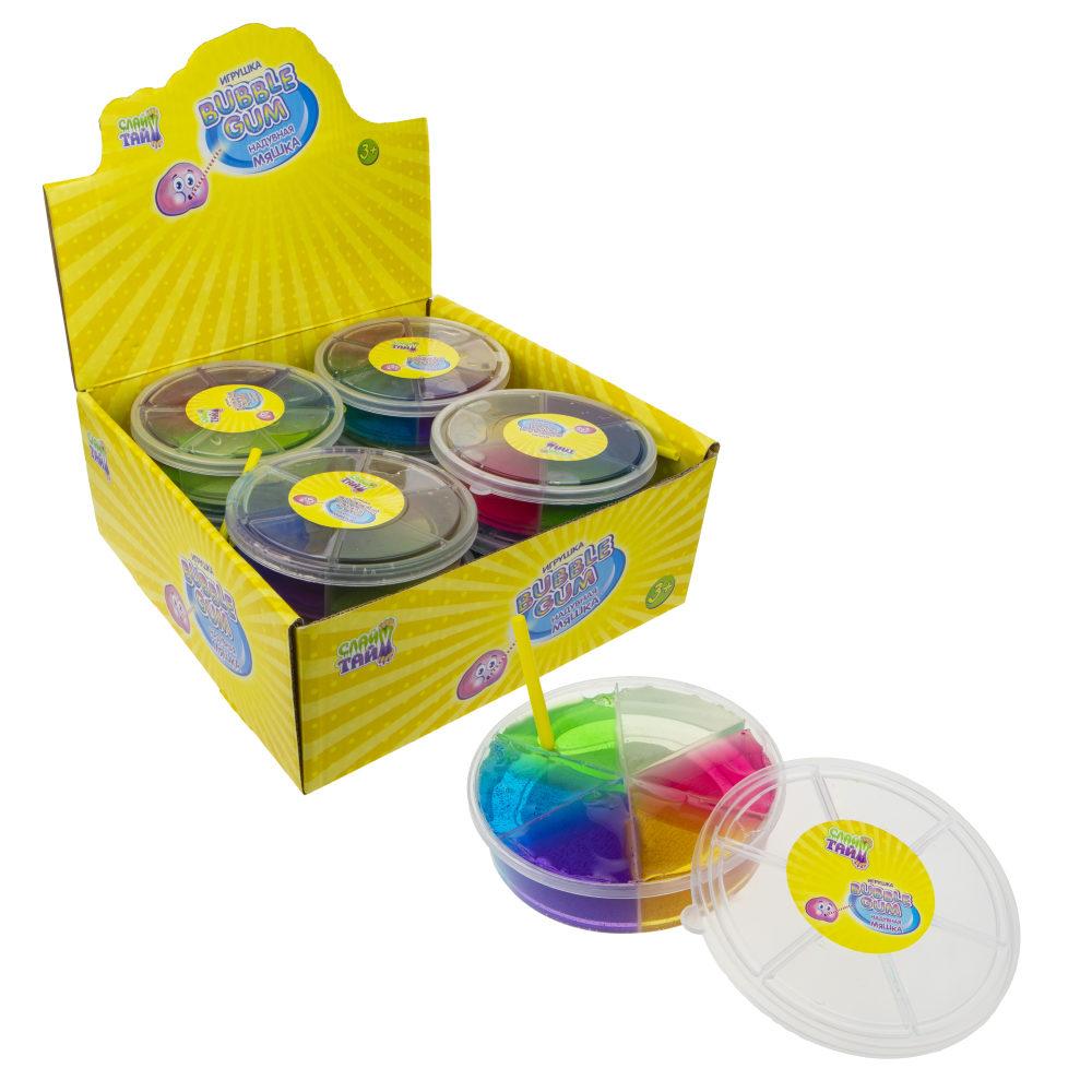 Купить Слайм тайм. Мяшка Bubble Gum, 11 см, 1toy,