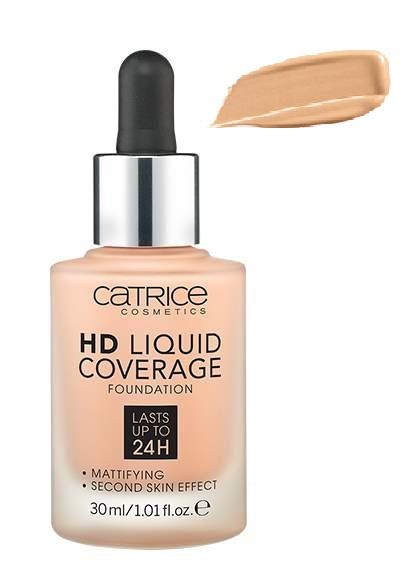 Купить Тональный крем CATRICE HD Liquid Coverage Foundation 020 Rose Beige 30мл