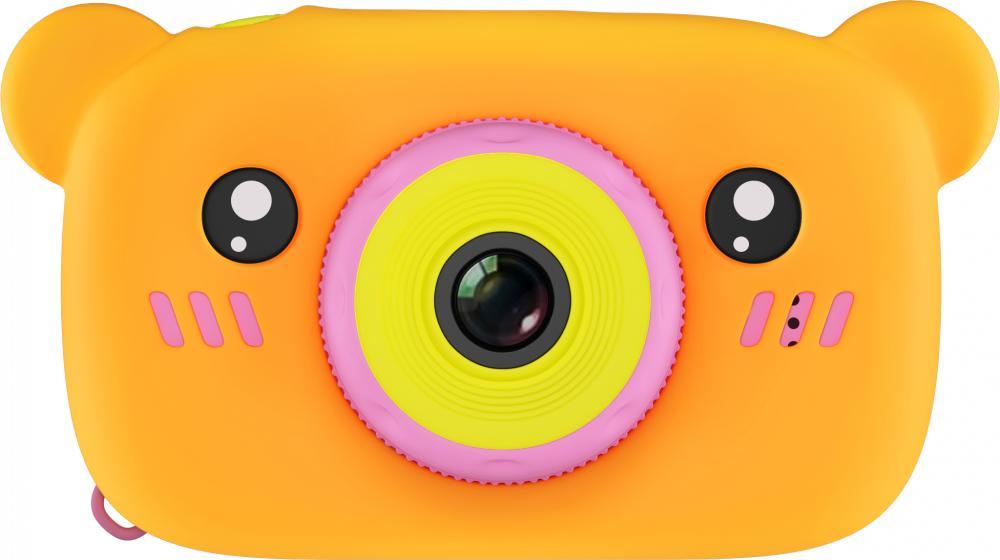 Купить Fun Camera Rabbit, Фотоаппарат цифровой компактный GSMIN Fun Camera Bear Pink/Orange,