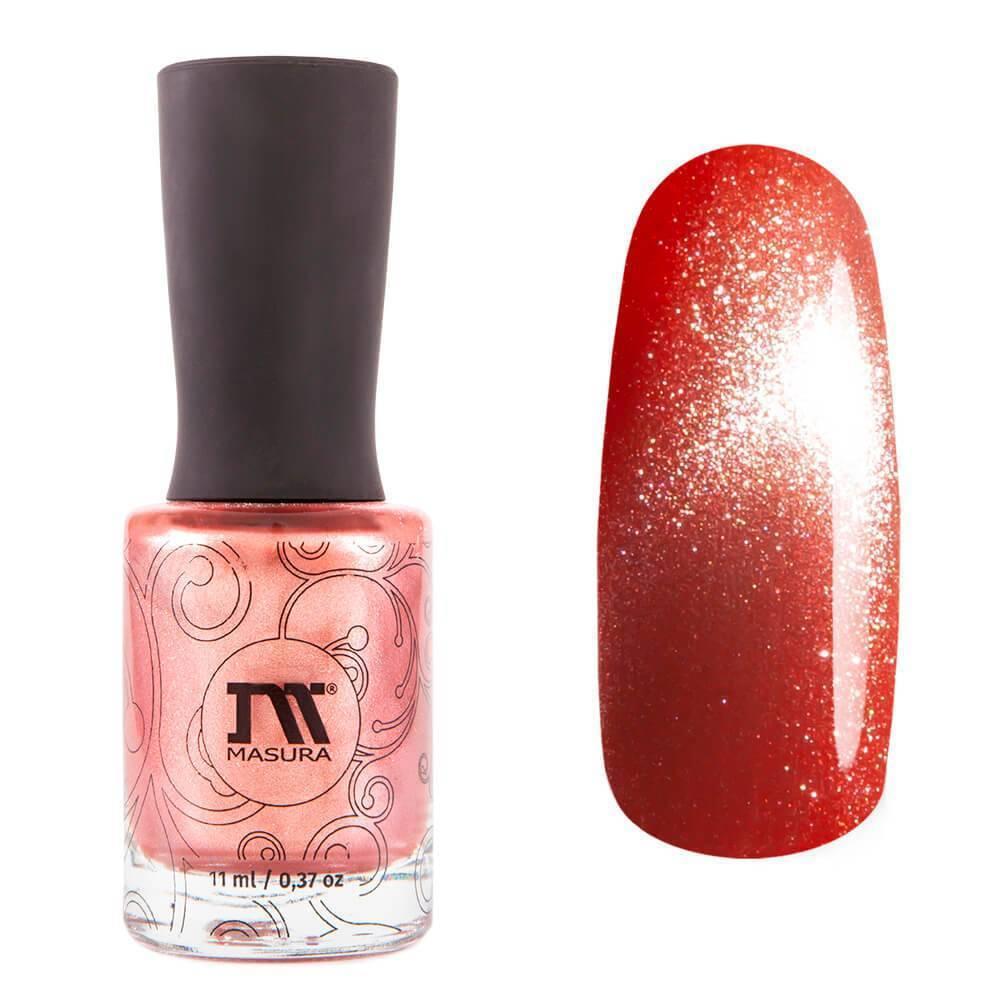 Купить Лак для ногтей Masura, №904-249M, Розовый жемчуг, 3, 5 мл