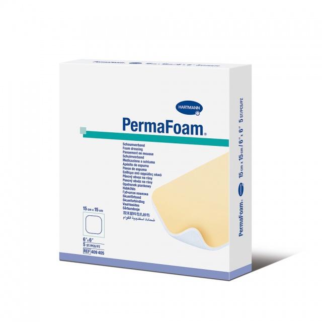 Губчатые повязки PermaFoam 15 см х