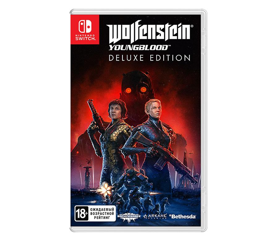 Игра Wolfenstein: Youngblood. Deluxe Edition для Nintendo Switch Bethesda