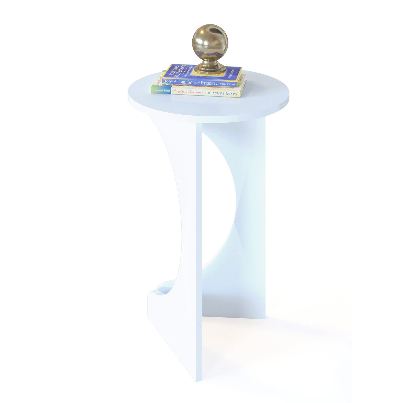 Стол журнальный Сокол СЖ-7, белый, 40х40х62 см