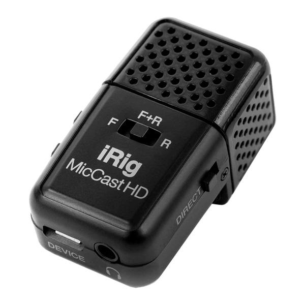 Микрофон IK Multimedia iRig Mic Cast HD Black