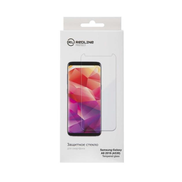 Защитное стекло для смартфона Red Line для Samsung Galaxy A8 2018 (А530)