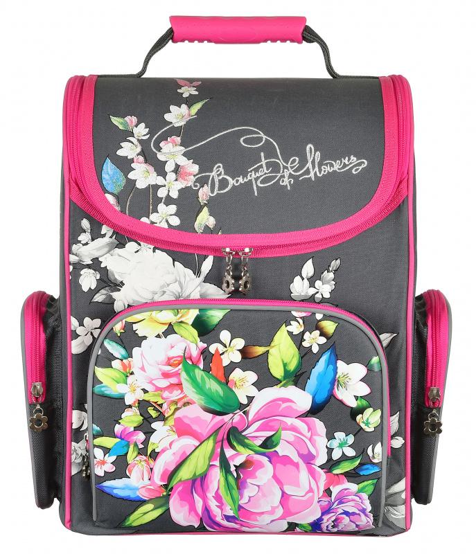 Купить Ранец Silwerhof Flowers, Школьные рюкзаки для девочек