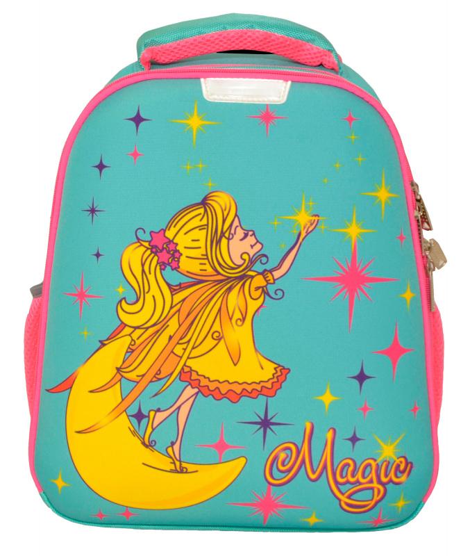 Купить Ранец Silwerhof Феечка голубой, Школьные рюкзаки для девочек