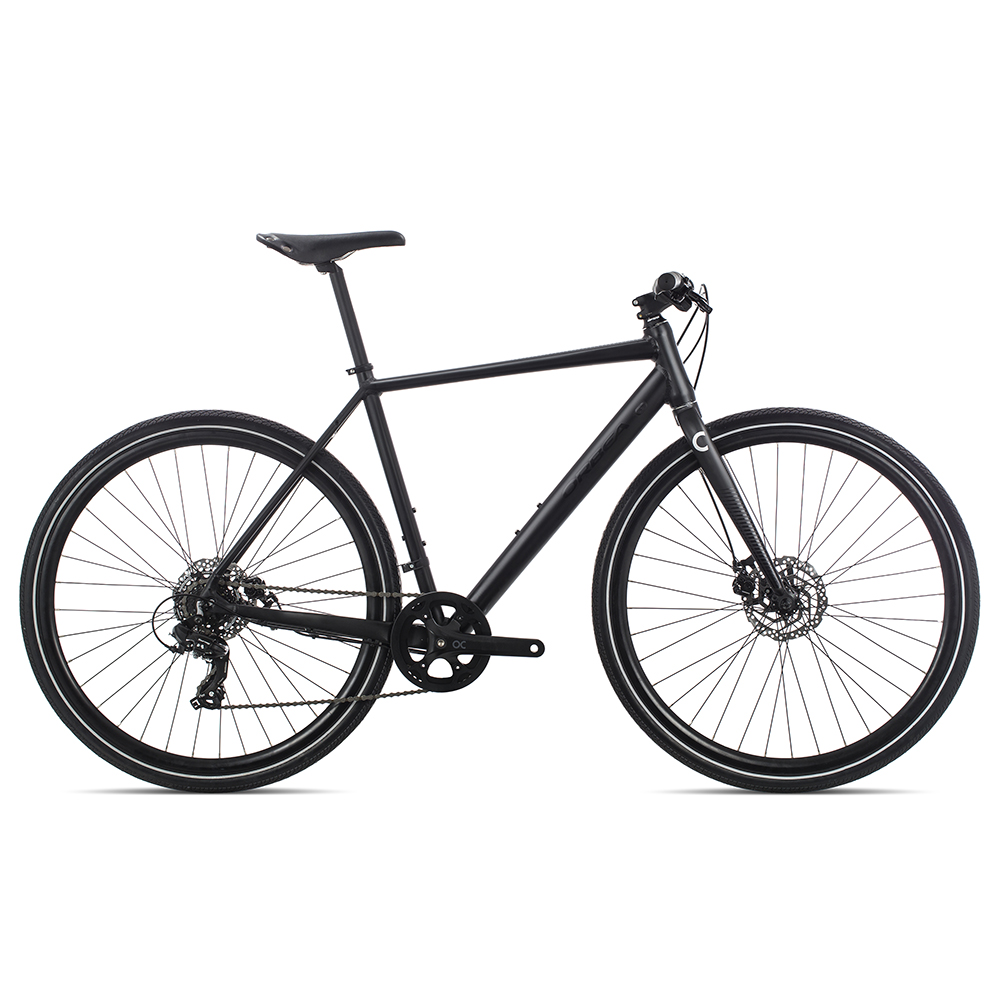 Велосипед дорожный Orbea CARPE 40 2020 L черный.