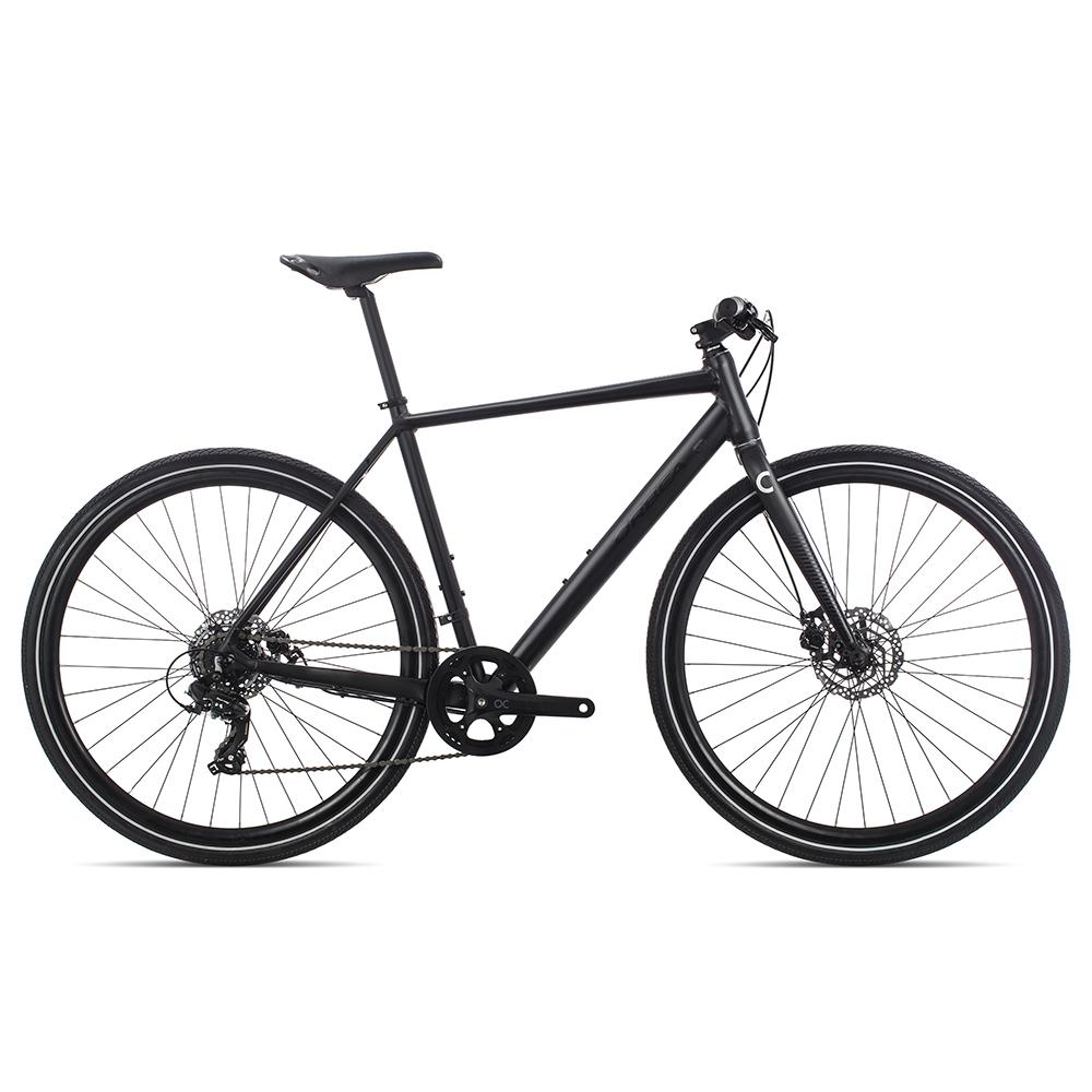 Велосипед дорожный Orbea CARPE 40 2020 XS черный.