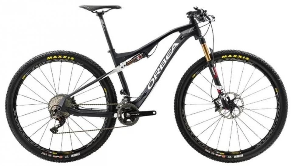 Велосипед MTB Orbea OIZ 29 M10 2017 M черный.