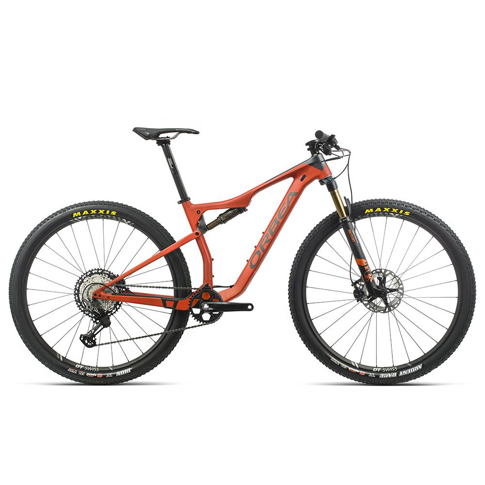 Велосипед MTB Orbea OIZ 29 M10 2020 M оранжевый.