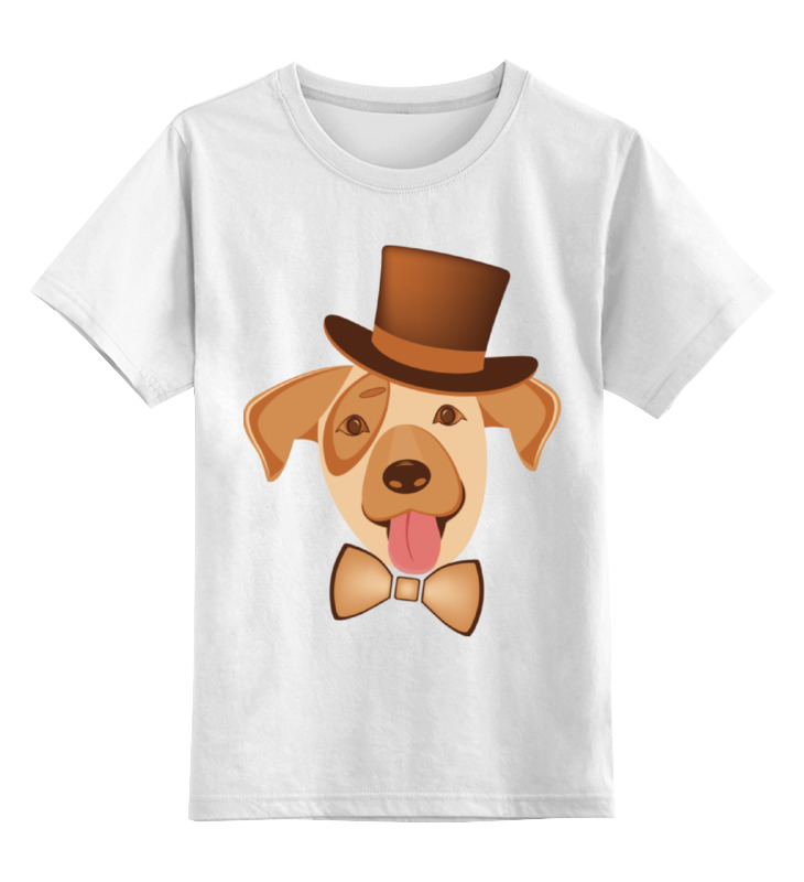 Детская футболка Printio Щенок по кличке арчи цв.белый р.104 0000002383851 по цене 790