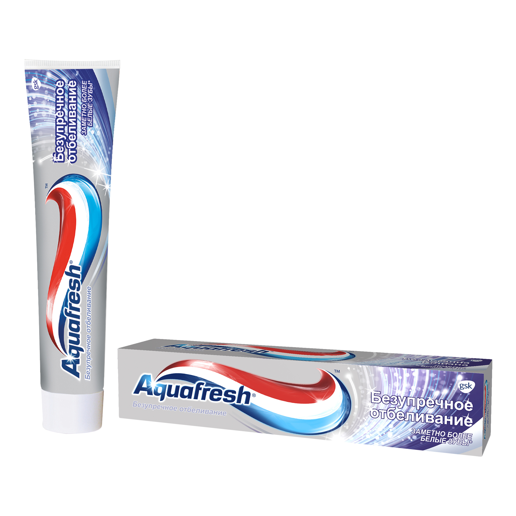 Зубная паста Aquafresh AQUAFRESH Зубная паста Безупречное отбеливание 100 мл фото