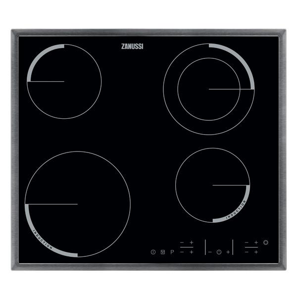 Встраиваемая варочная панель электрическая Zanussi ZEN6641XBA Black