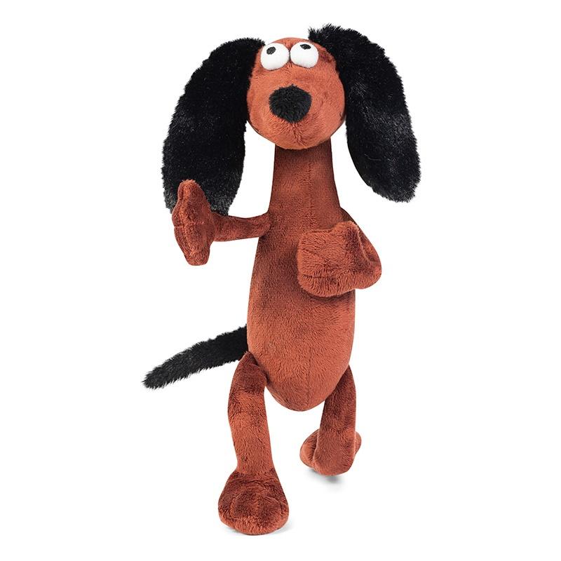 Мягкая игрушка Maxitoys Барбос-Черный Нос, 22 см