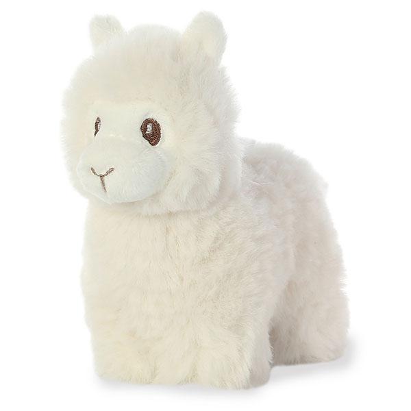 Купить Мягкая игрушка Aurora Лама кремовая, 15 см, Мягкие игрушки животные