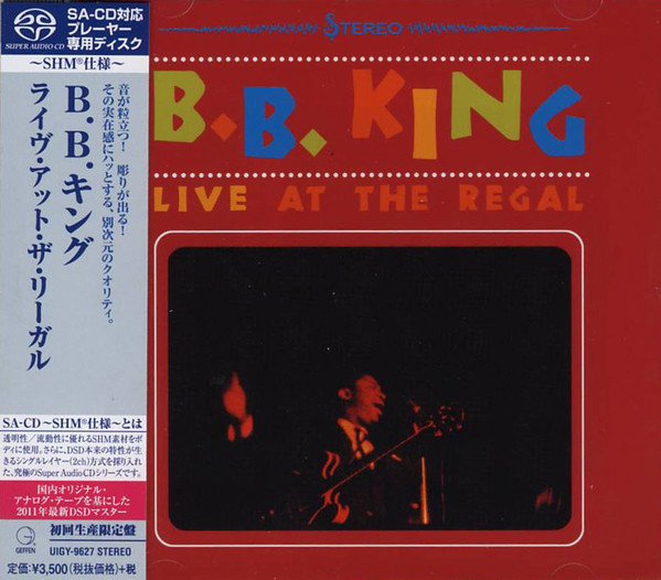 B.B.King: Live At The Legal: Limited (1 SaCD)