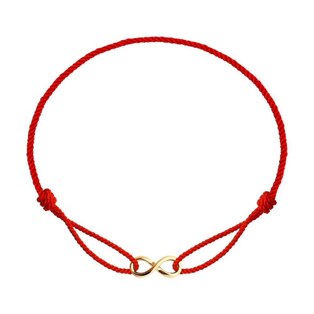 Браслет из красного золота р.17 Diamant 51-150-01193-1