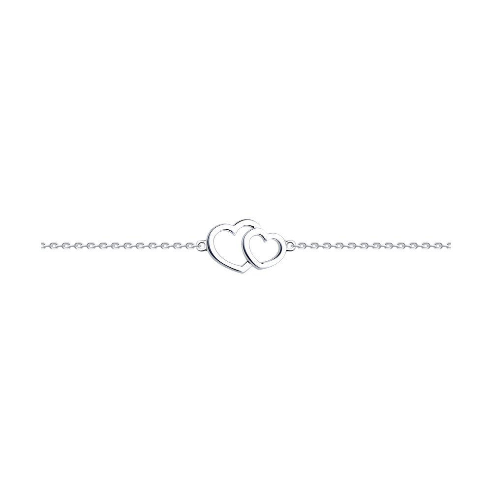 Браслет из серебра р.23 Diamant 94-150-01176-1