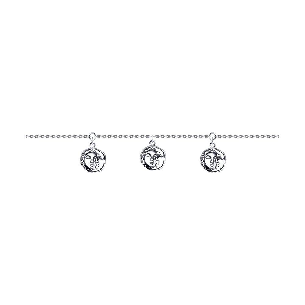 Браслет из серебра р.17 Diamant 95-150-01264-1