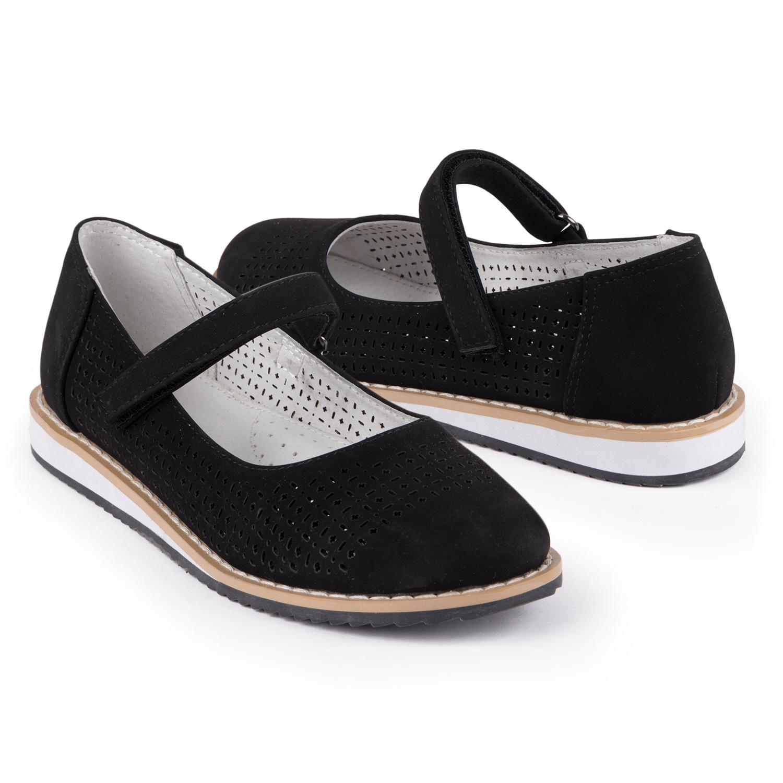 Купить Туфли для детей Kidix ZCFW21-29 black черный 34,