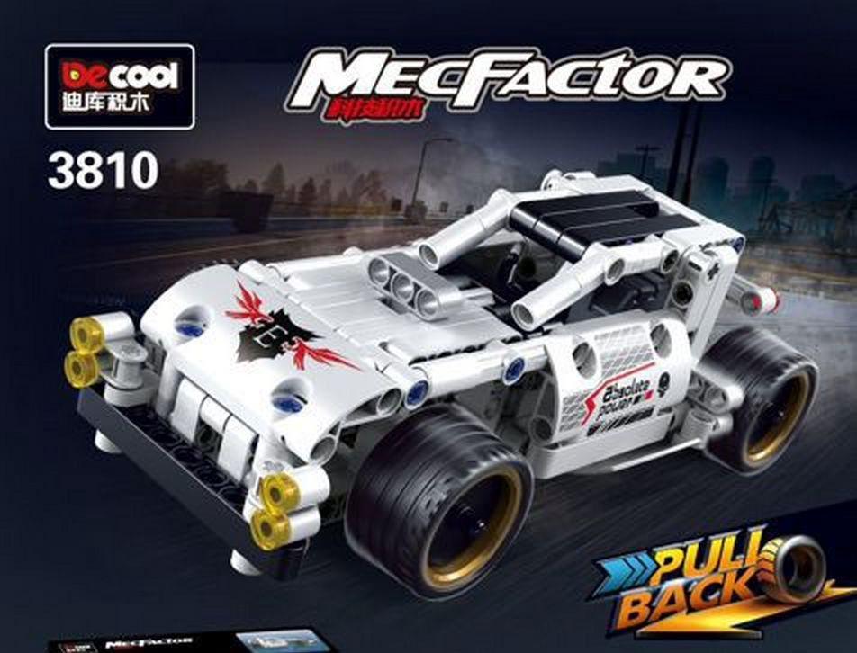 Купить Конструктор Decool (Jisi bricks) 3810 Гоночная машина,