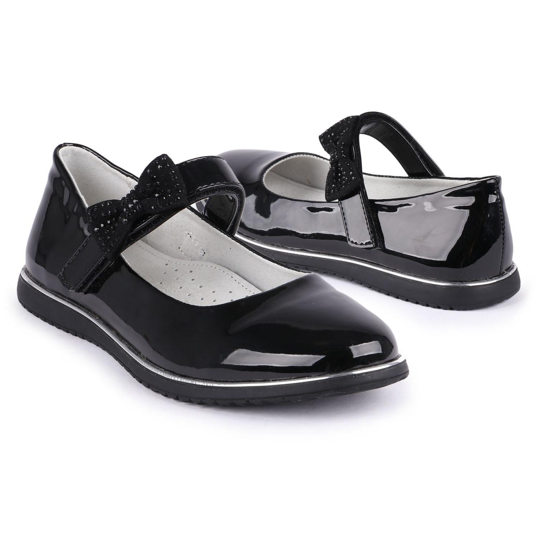 Купить Туфли для детей Kidix MUFW21-25 black черный 31,