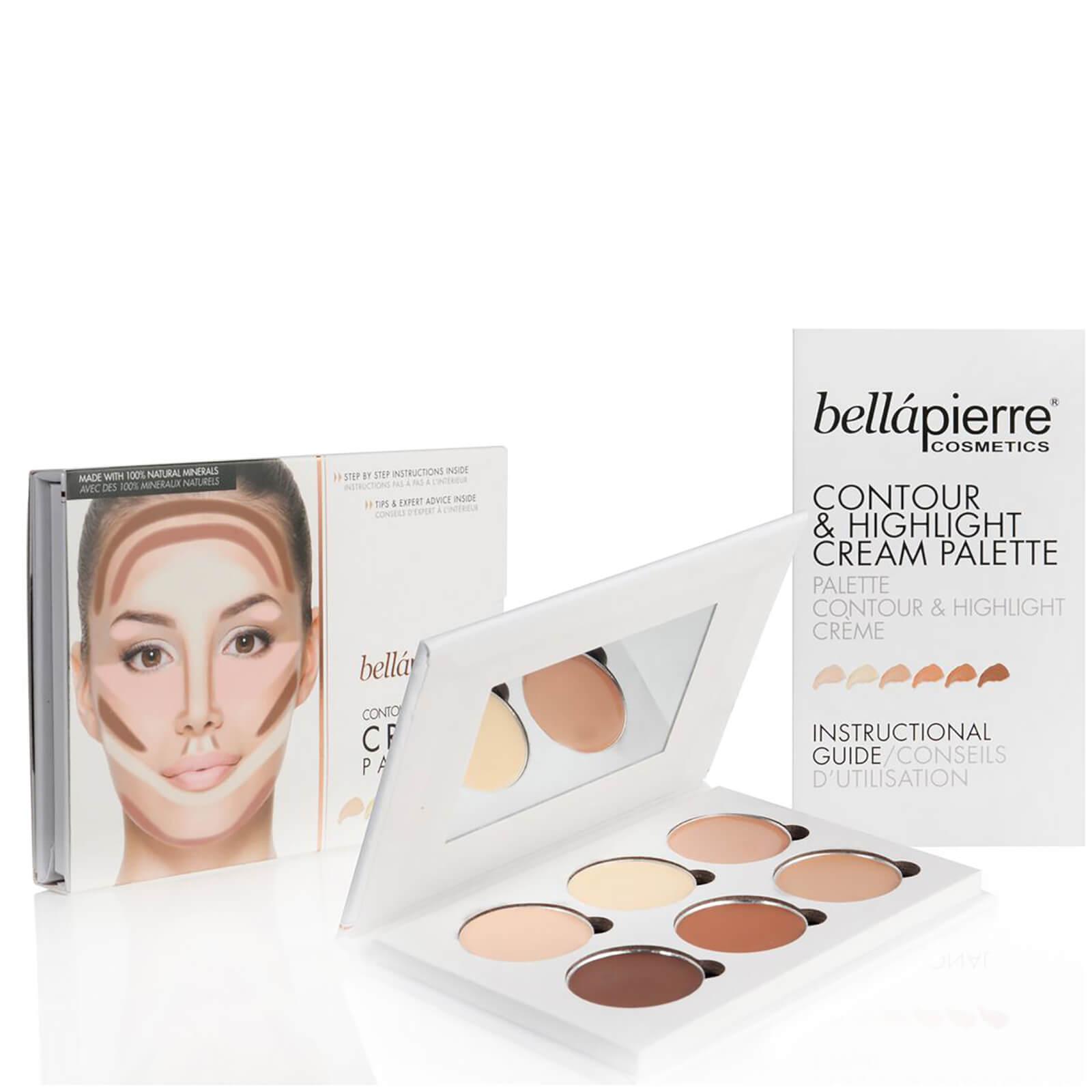 Кремовая палетка для макияжа Bellapierre cosmetics Contour