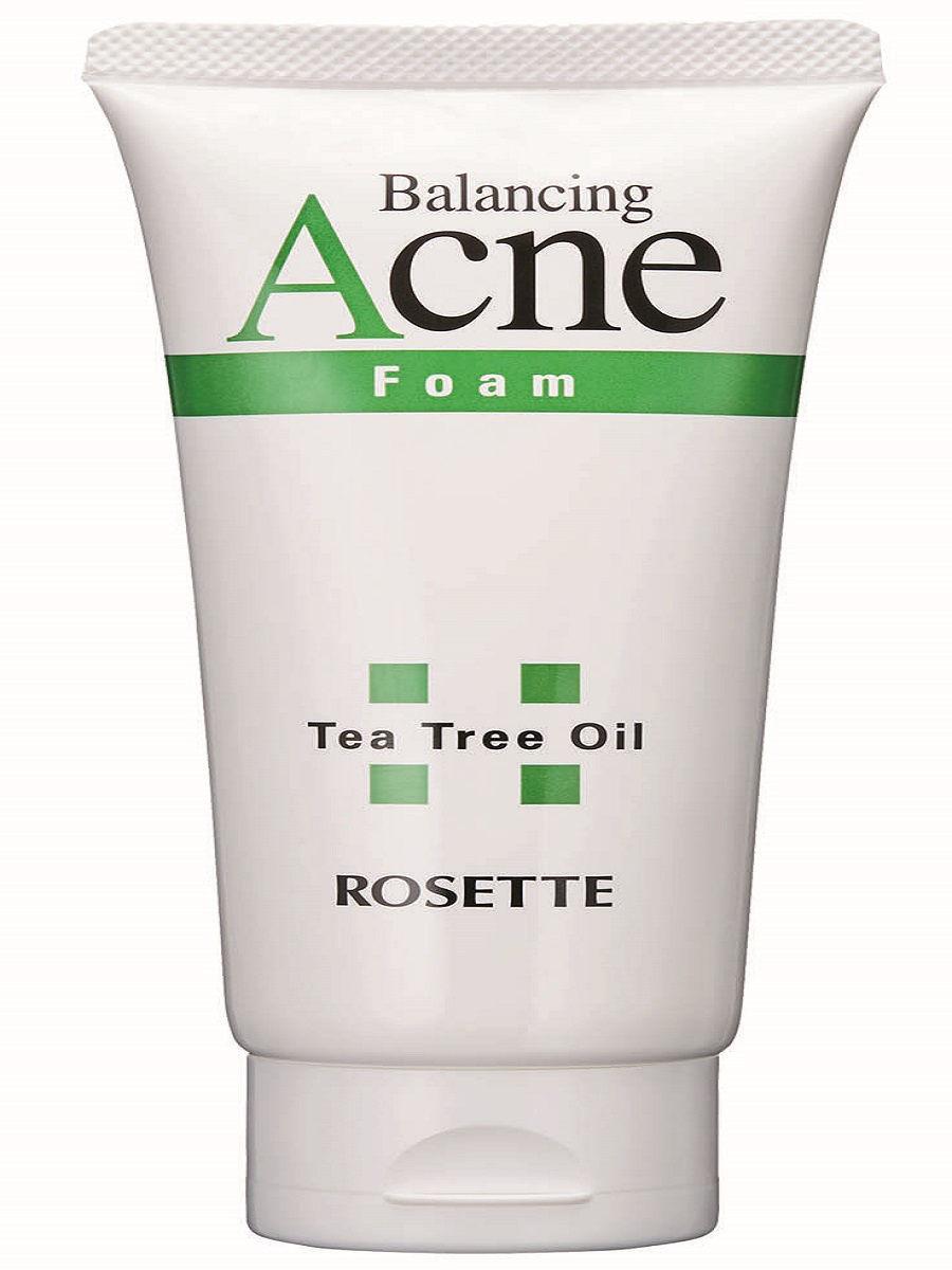 Купить Пенка для умывания для проблемной кожи с натуральным маслом чайного дерева Acne Foam 120 г, Rosette