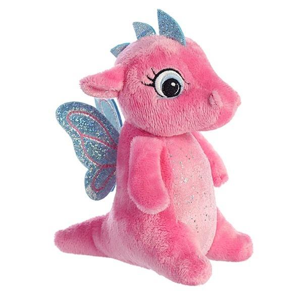 Купить Мягкая игрушка Дракончик , розовый, 16 см Aurora,